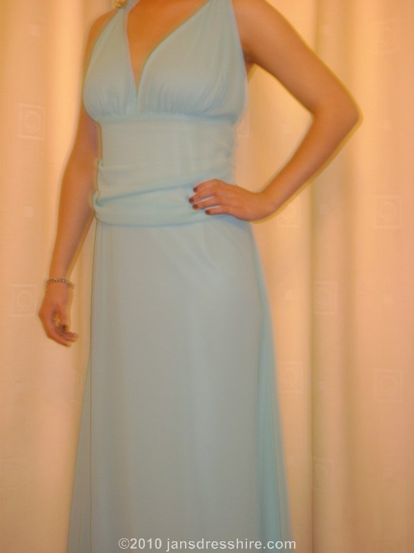 Blue (turquoise) Dress - Size 18 - 50JO